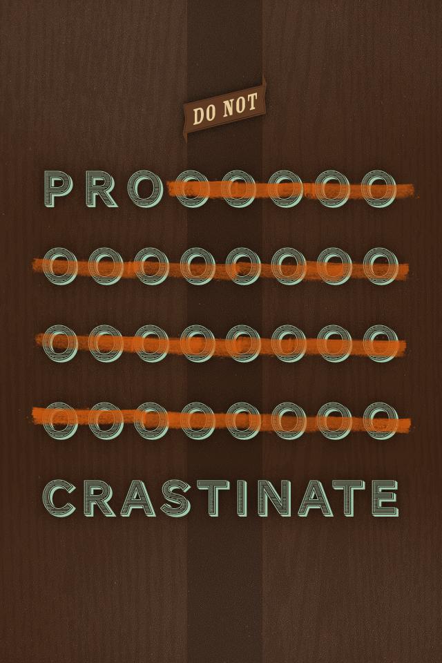 Stop procrastinating by Inka Mathew