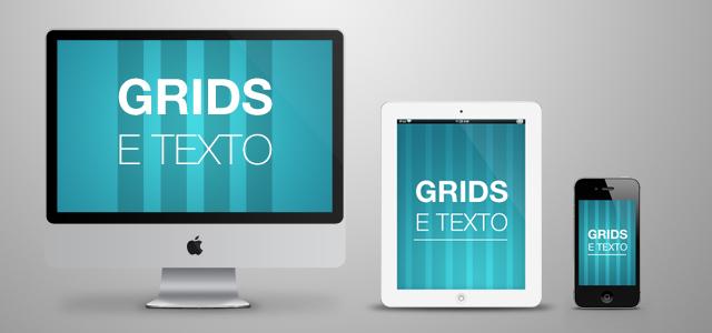 grids e textos