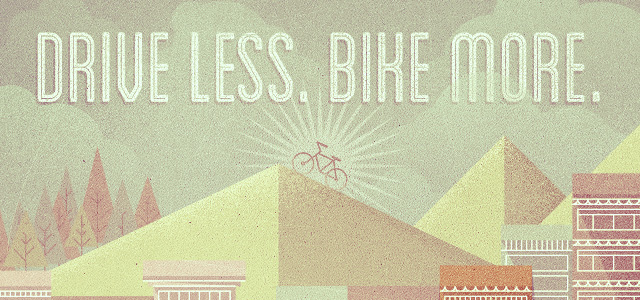 Drive less, bike more by Justin Mezzell