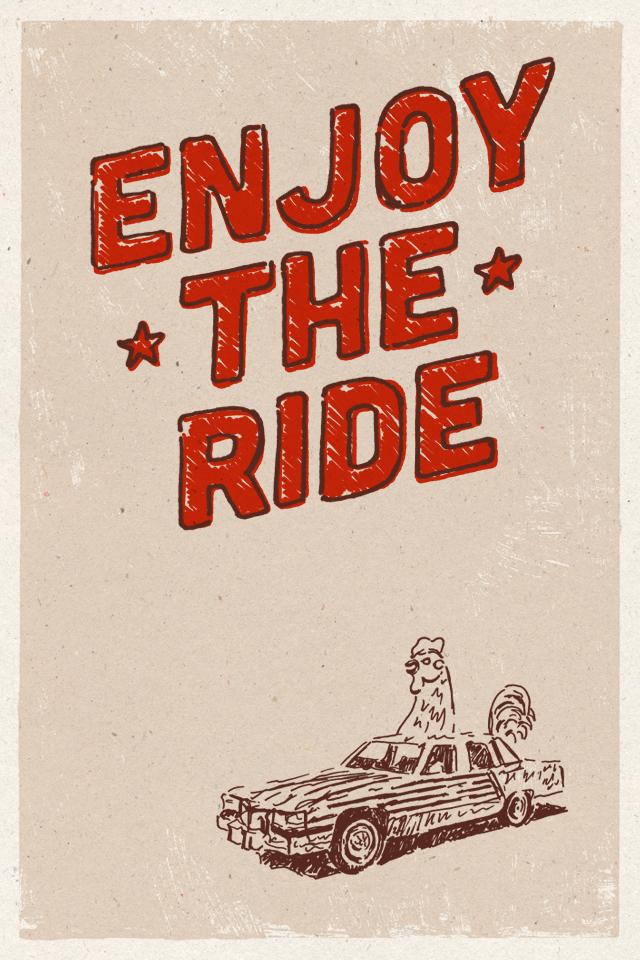 Enjoy the ride by Elias Stein
