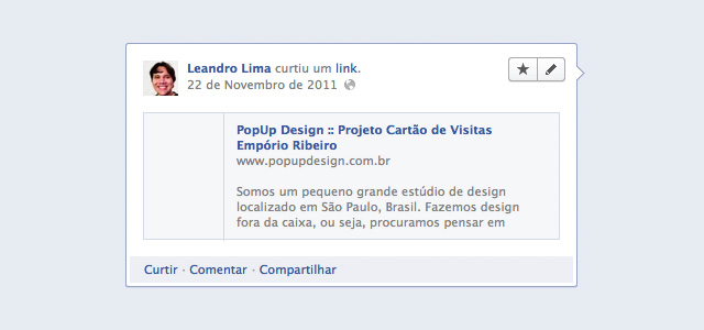 Exemplo do Open Graph mal configurado
